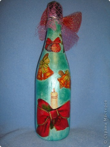 Новогодние бутылочки. фото 2