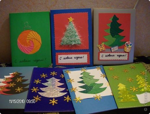 новогодние открытки для родных и близких. фото 9