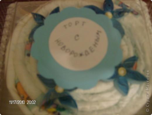 а это торт для мальчугана. фото 3