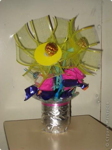 Первый букет из конфет ЗАГАДКА фото 1