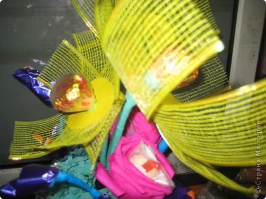 Первый букет из конфет ЗАГАДКА фото 3