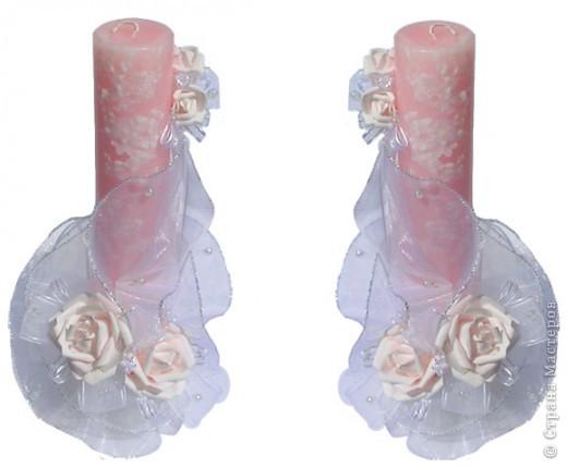 свадебние свечи