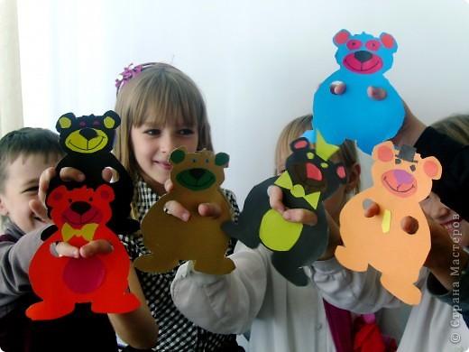 """Играть лучше всего теми игрушками, которые своими руками делаешь - мы в этом уже давно убедились. После очередного урока родился настоящий театр """"Медвежуть""""))))))))))))))))))))) фото 1"""