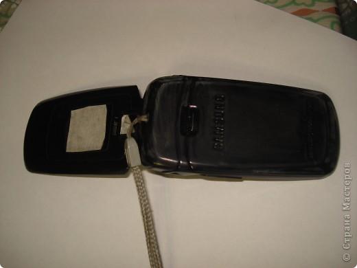 Решила сделать себе подарок на день рождения,и задекорировала свой старый телефон. фото 3