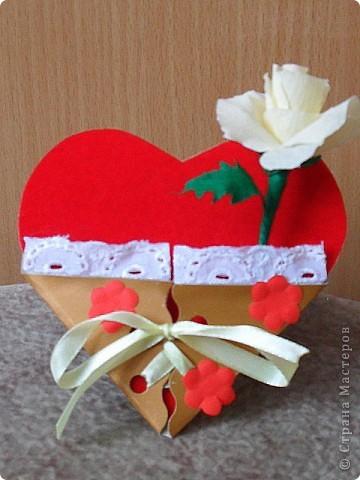 """Вот и началась подготовка к Дню Св. Валентина. Не помню у кого """"слямзила"""" идею..."""