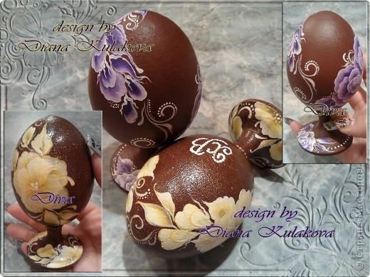 Яйца пасхальные - деревянные фото 1