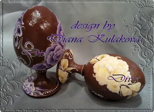 Яйца пасхальные - деревянные фото 2