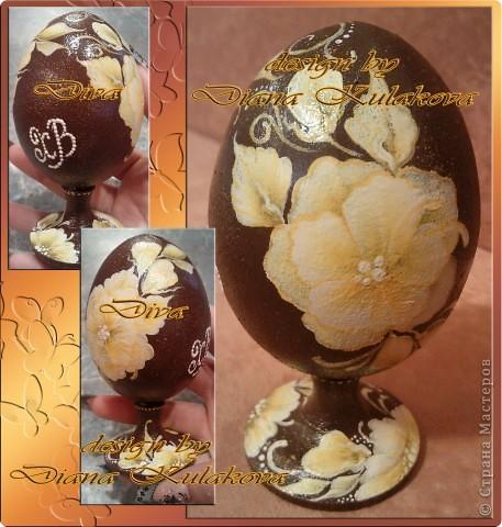 Яйца пасхальные - деревянные фото 3