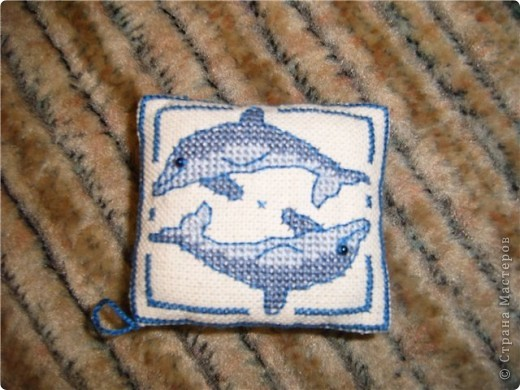 Мотив с дельфинами  фото 4