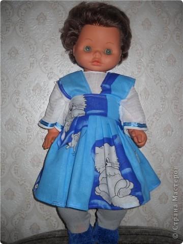 одежда для бабушкиной куклы фото 4