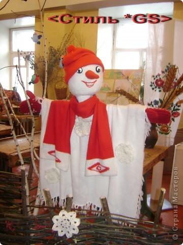 Авторская работа. Куклы вязаные. Победители на городских, районных и областных выставках с 2005 года. (Визитные карточки) фото 3