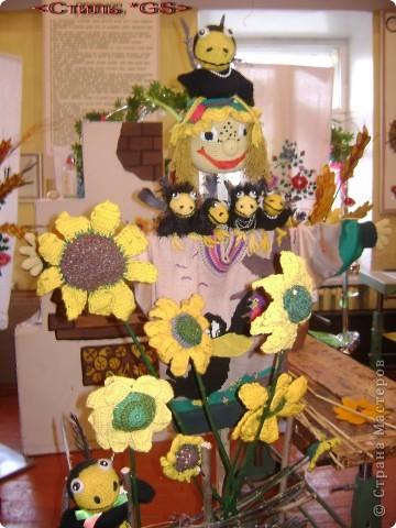 Авторская работа. Куклы вязаные. Победители на городских, районных и областных выставках с 2005 года. (Визитные карточки) фото 2