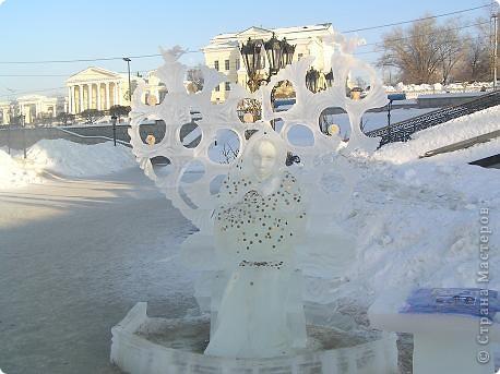 Храм на крови. Ледяные скульптуры. Тоже ручная работа фото 11