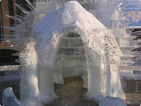 Храм на крови. Ледяные скульптуры. Тоже ручная работа фото 13