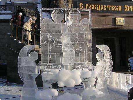 Храм на крови. Ледяные скульптуры. Тоже ручная работа фото 3