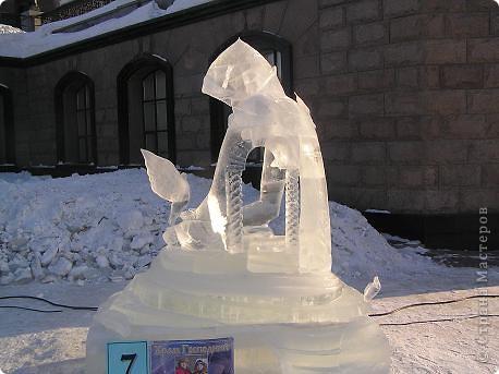 Храм на крови. Ледяные скульптуры. Тоже ручная работа фото 6