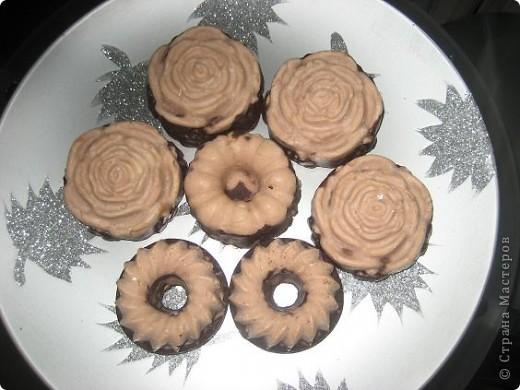 Мыло -из детского-шоколадно-ванильное