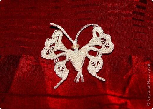 бабочки (макраме) фото 2