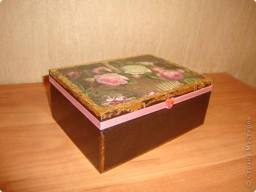 Декоративная шкатулка фото 3