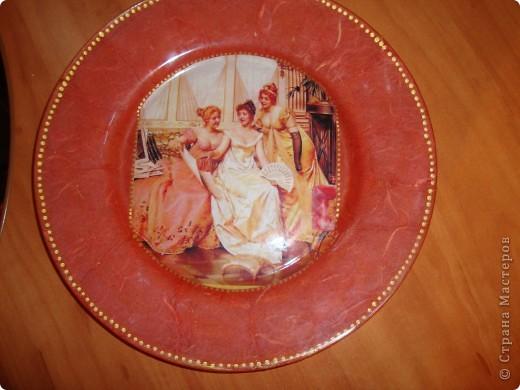 Декоративная тарелка фото 3