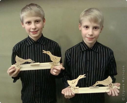 У меня в кружке новое пополнение. Милан (слева) и Алан - ученики четвертого класса. Это их первые поделки.