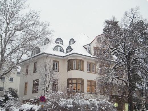 Вот таким был наш первый снег! Зима у нас началась очень рано для Германии - в ноябре. фото 15