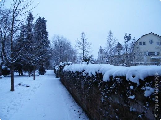 Вот таким был наш первый снег! Зима у нас началась очень рано для Германии - в ноябре. фото 16