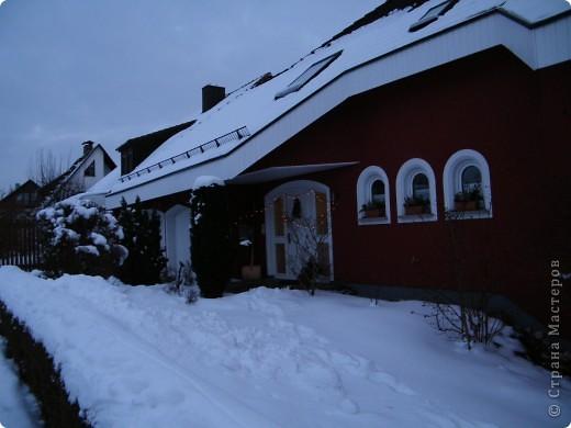 Вот таким был наш первый снег! Зима у нас началась очень рано для Германии - в ноябре. фото 17