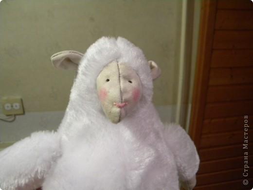 Уже давно хотела сшить тильдовскую овцу, уж очень они меня умиляют. Вот он - первый опыт фото 2
