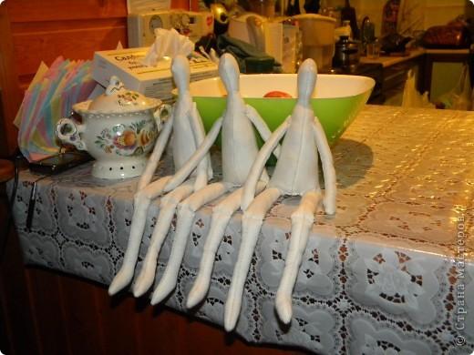 Вот решила еще раз попробовать себя в пошиве кукол - Тильдочек, а за одно и рассказать как я это делала :) фото 8
