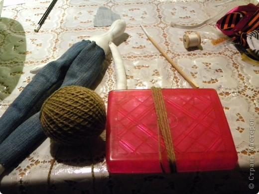 Вот решила еще раз попробовать себя в пошиве кукол - Тильдочек, а за одно и рассказать как я это делала :) фото 12