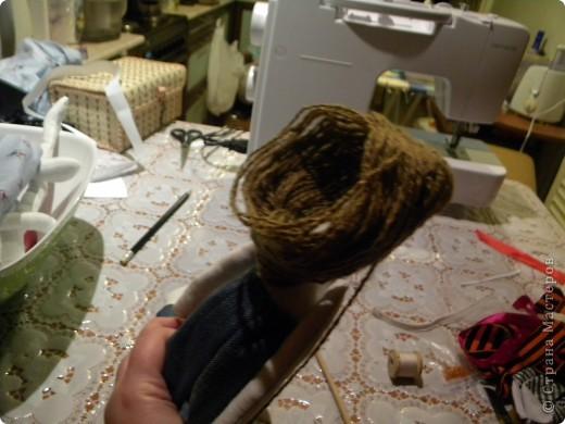 Вот решила еще раз попробовать себя в пошиве кукол - Тильдочек, а за одно и рассказать как я это делала :) фото 15