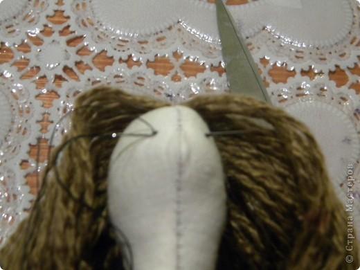 Вот решила еще раз попробовать себя в пошиве кукол - Тильдочек, а за одно и рассказать как я это делала :) фото 17