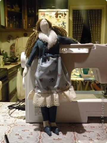Вот решила еще раз попробовать себя в пошиве кукол - Тильдочек, а за одно и рассказать как я это делала :) фото 19