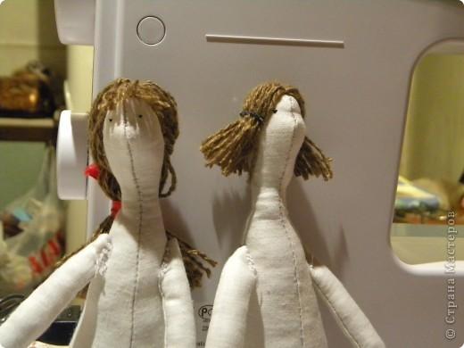 Вот решила еще раз попробовать себя в пошиве кукол - Тильдочек, а за одно и рассказать как я это делала :) фото 16