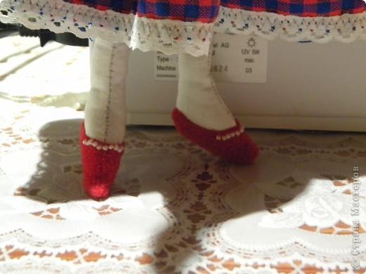 Вот решила еще раз попробовать себя в пошиве кукол - Тильдочек, а за одно и рассказать как я это делала :) фото 22