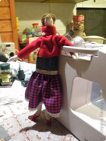 Вот решила еще раз попробовать себя в пошиве кукол - Тильдочек, а за одно и рассказать как я это делала :) фото 23