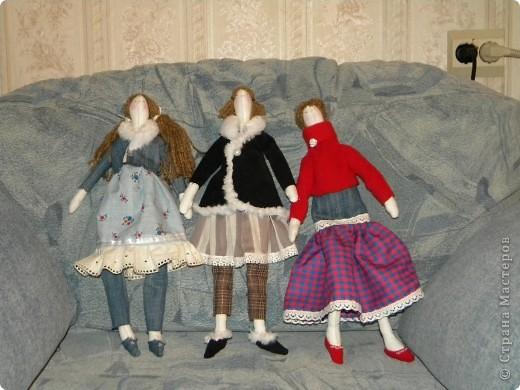 Вот решила еще раз попробовать себя в пошиве кукол - Тильдочек, а за одно и рассказать как я это делала :) фото 1