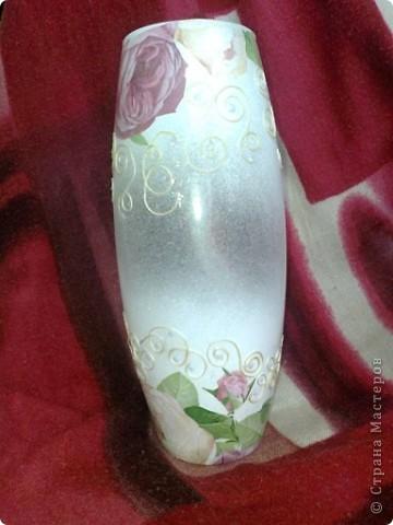 Видела где-то в интернете подобную вазу.вот решила тоже сделать фото 2