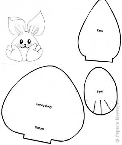 Сшить зайца своими руками выкройки для начинающих