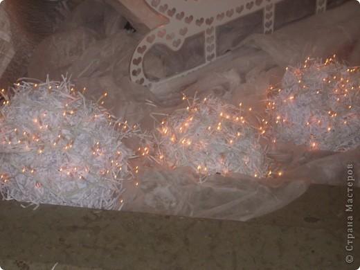 Наши ёжики и цветы из полосок бумаги(бумага пропущена через аппарат для уничтожения документов) фото 11