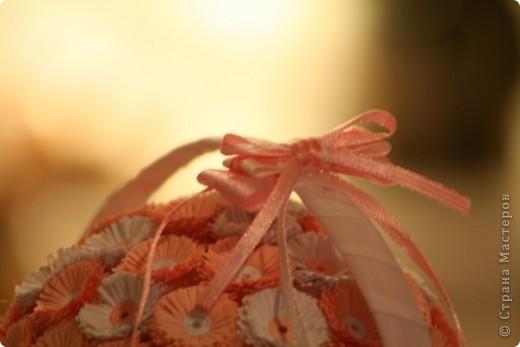 Сделала вот такую корзиночку в подарочек на крестины, надеюсь понравится  фото 6