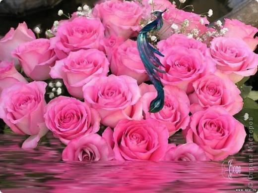 В душе твоей, среди зимы цветут прекрасные сады, там место есть для доброты и щедрости и красоты.  Для тебя сегодня песни и стихи и розы, помешать поздравить не смогут  и морозы.  фото 2