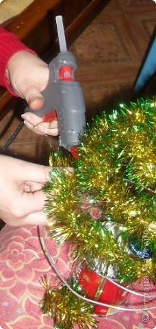 Вот такие новогодние ёлочки я наделала друзьям, знакомым, родственникам. фото 5