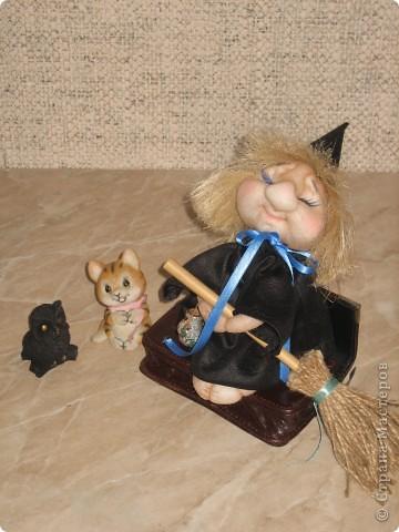 Маленькая ведьмочка по пути на Лысую гору прилегла отдохнуть... фото 5