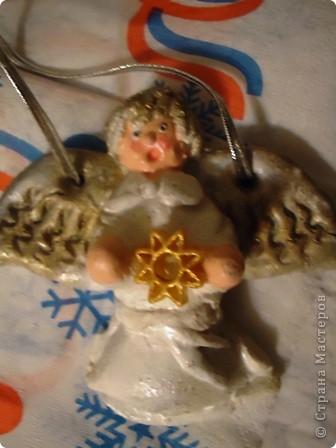 Еще немного ангелочков к Рождеству. фото 2
