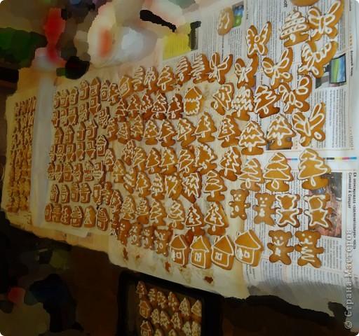 росьпись печенюшек к рождеству фото 2