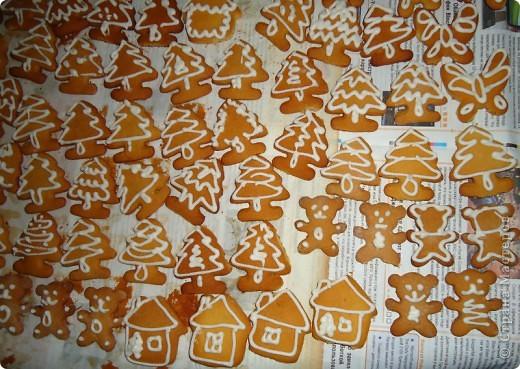 росьпись печенюшек к рождеству фото 1