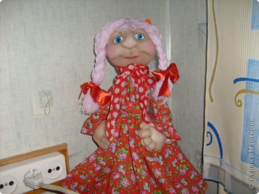 """Это первая моя кукла по М.К. Ликмы"""" Глаша"""""""