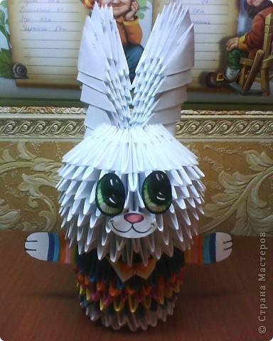 Это моё первое творение из оригами!)) фото 2
